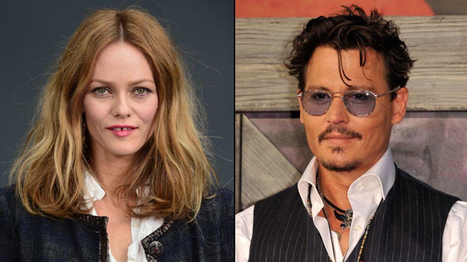 Vanessa Paradis : Sa réaction aux fiançailles de Johnny Depp et Amber Heard