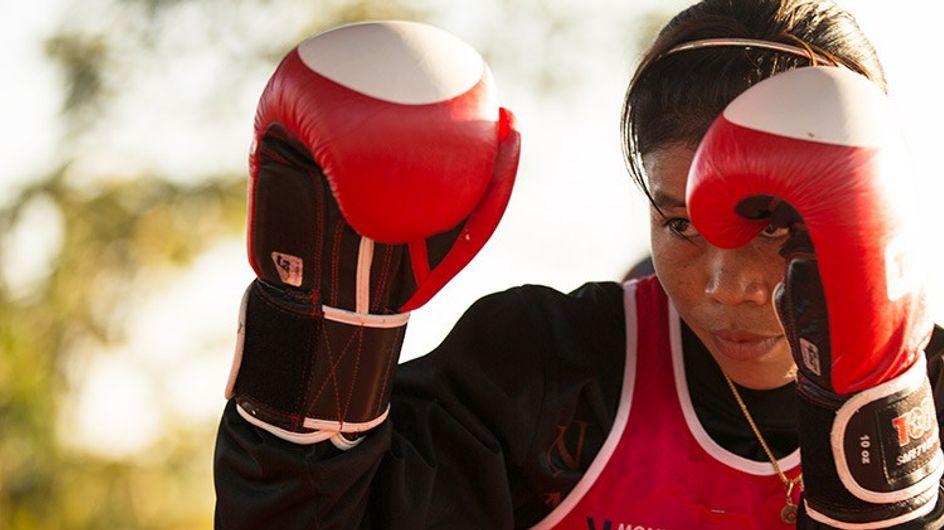 Mary Kom lucha por la defensa femenina en la India