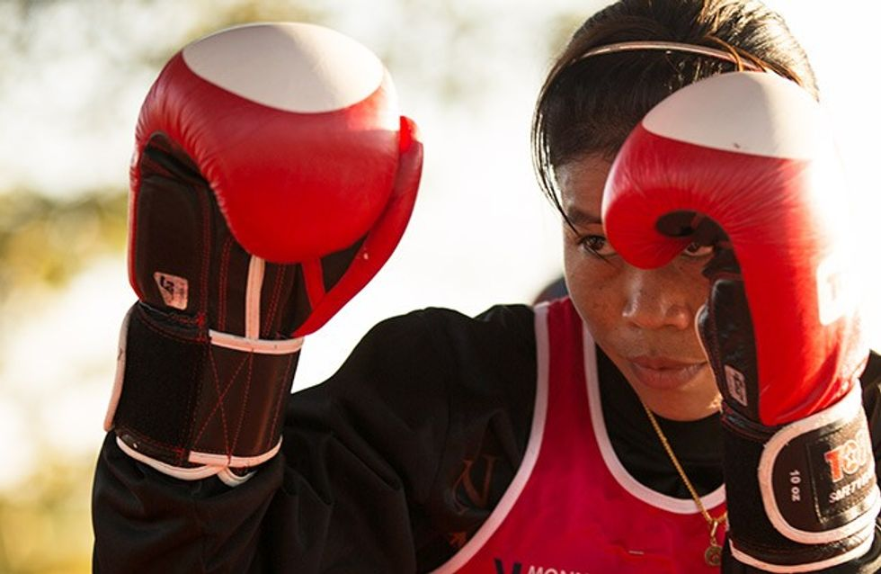 Mary Kom lucha por la defensa femenina en la India