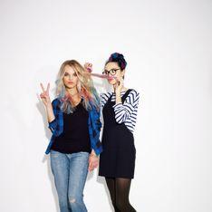 Tendance Hair chalk : On booste son look avec The Body Shop