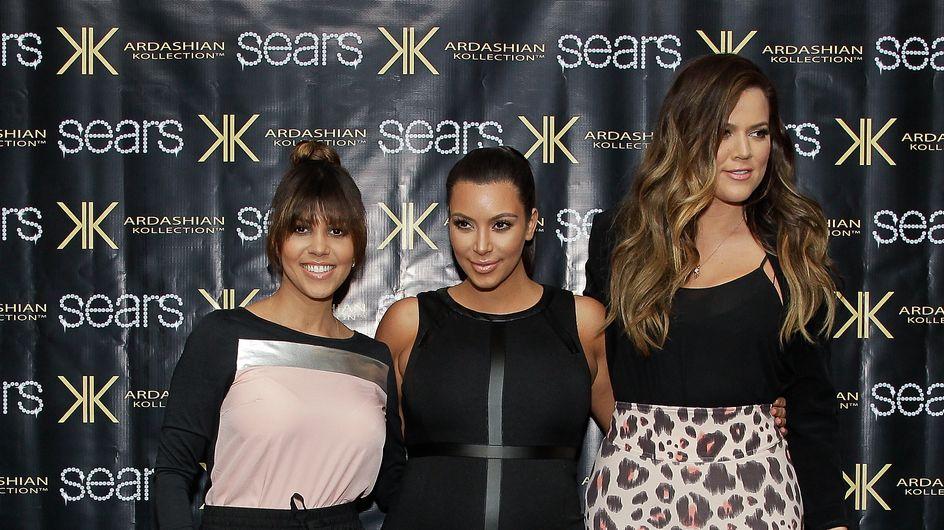 Kim, Khloé et Kourtney Kardashian : Les premières images de leur collection pour enfants (photos)