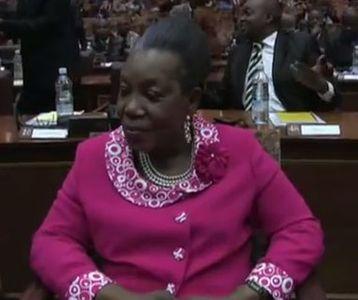 Catherine Samba Panza, chef de l'Etat de transition de Centrafrique