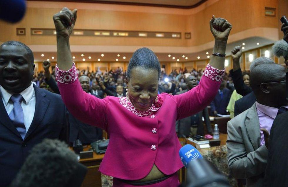 Catherine Samba Panza prima donna capo di Stato nella Repubblica centrafricana
