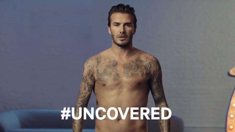 David Beckham : Avec ou sans slip ? (vidéos)