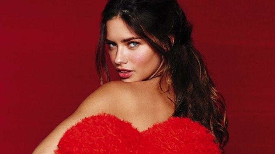 Adriana Lima : Sexy pour la Saint-Valentin de Victoria's Secret (Photos)
