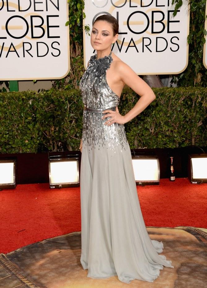 Mila Kunis bei den Golden Globes 2014