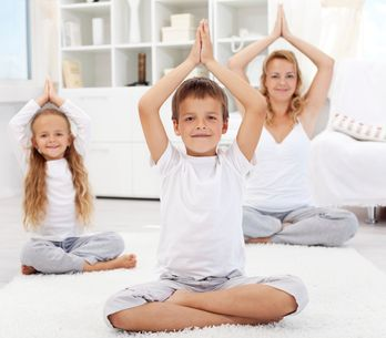 Fitness for the family: fun exercises for kids and parents