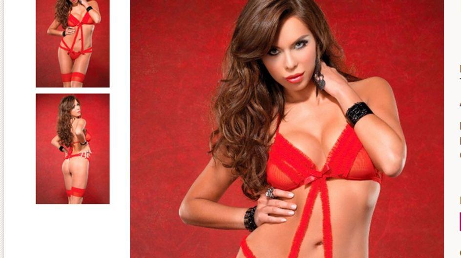 Von wegen Glamour-Leben: Liliana Matthäus modelt für Sexshop!
