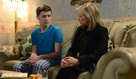 Liam promises Carol he won't tell Tiffany and Morgan about her cancer
