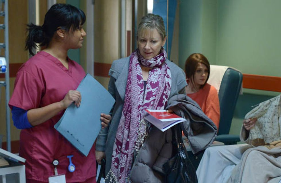 Eastenders 07/02 – Carol as her first chemotherapy appointment