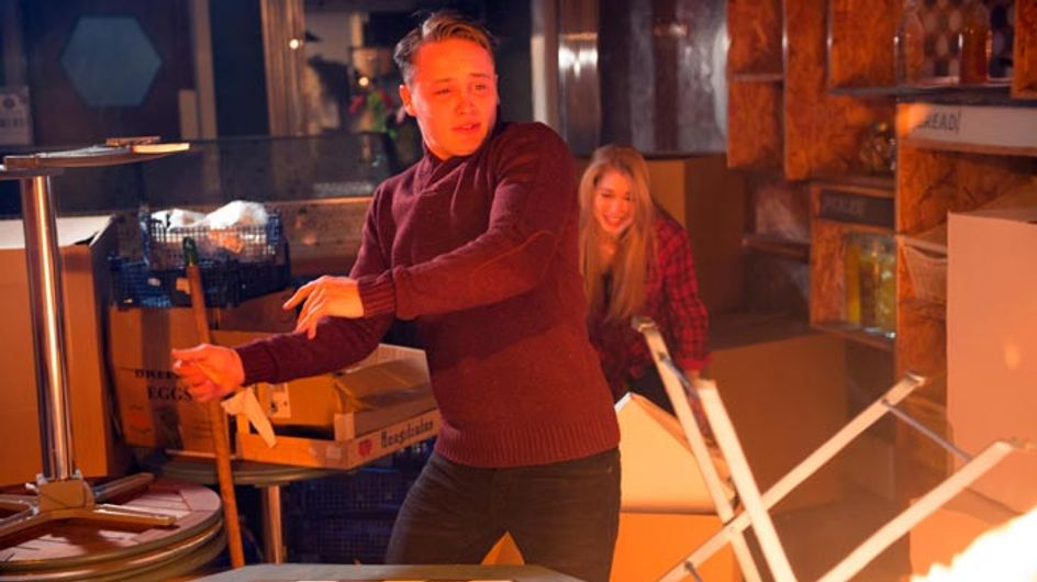 Hollyoaks 06/02 – Holly and Jason are trapped