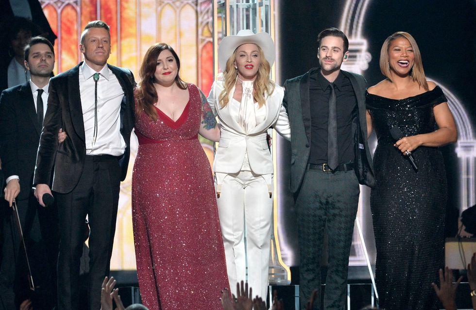 Grammy Awards : Madonna célèbre des mariages en direct ! (Vidéo)