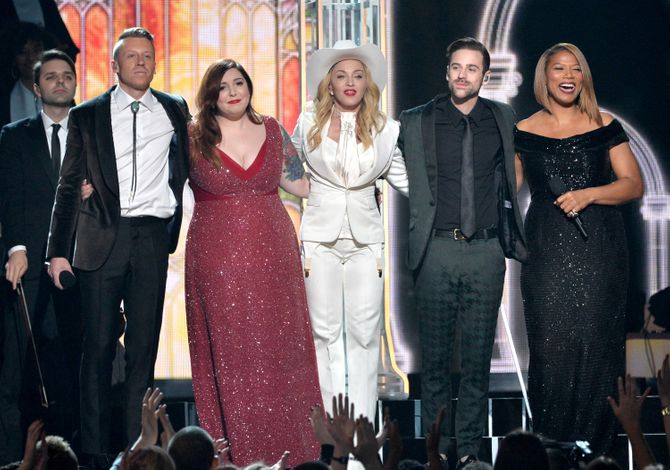 Macklemore, Mary Lambert, Madonna, Ryan Lewis & Queen Latifah