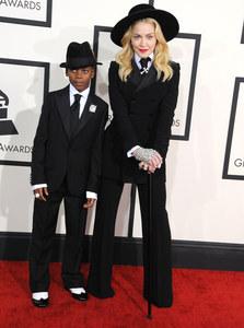 Madonna & Sohn David  - Grammy Awards