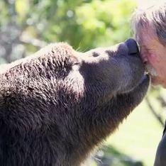 Insolite : Oseriez-vous câliner ce grizzli ? (Vidéo)
