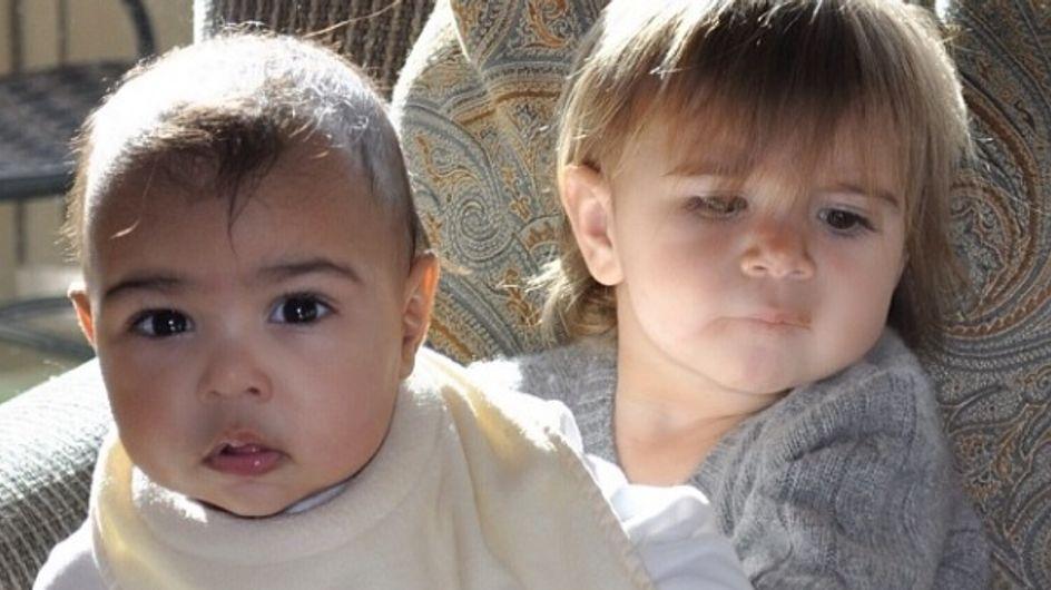 Kim Kardashian : North et Penelope prennent la pose (photo)