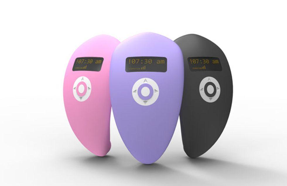 Risveglio hot con il vibratore-sveglia