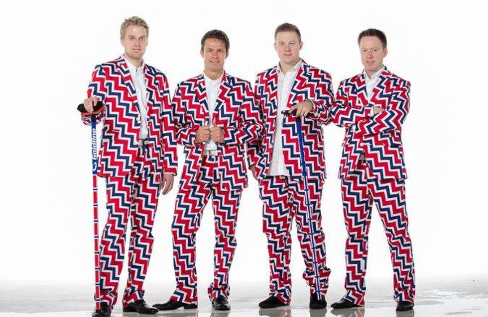 Jeux Olympiques de Sochi : Les athlètes présentent leurs tenues officielles... attention les yeux !