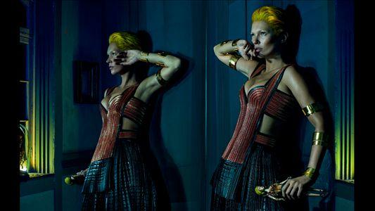 Kate Moss musa para McQueen