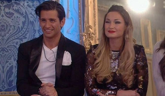 Ollie Locke and Sam Faiers