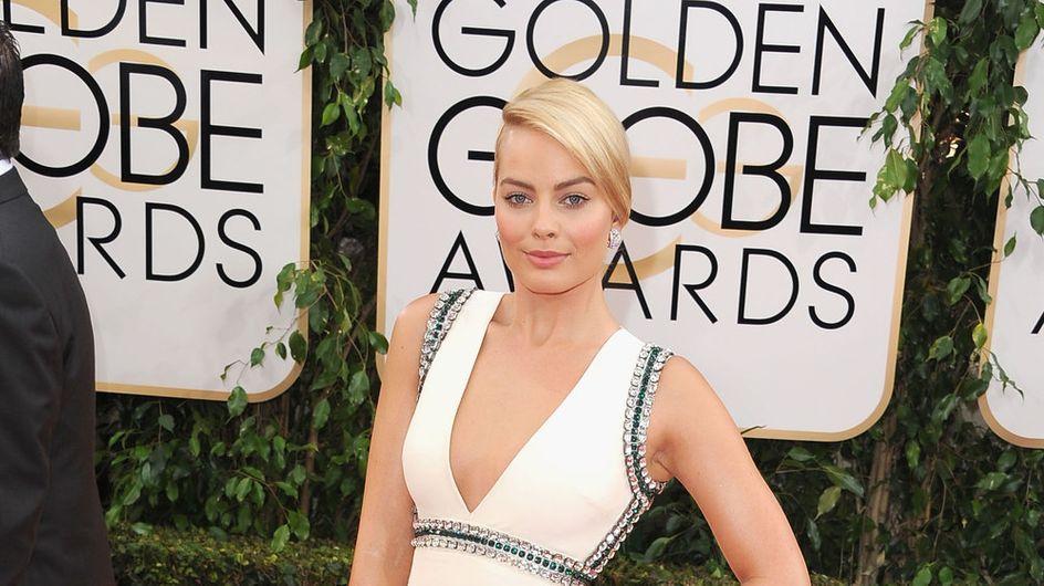 Margot Robbie : Brune et sans maquillage (photo)