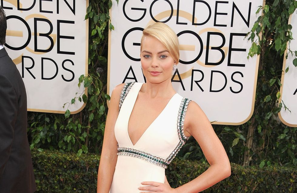 Margot Robbie : Brune et sans maquillage (photo)