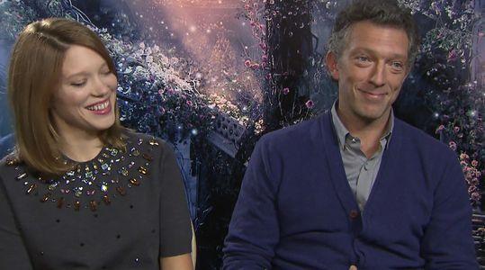 L'interview exclusive de Vincent Cassel et Léa Seydoux pour La Belle et la Bête