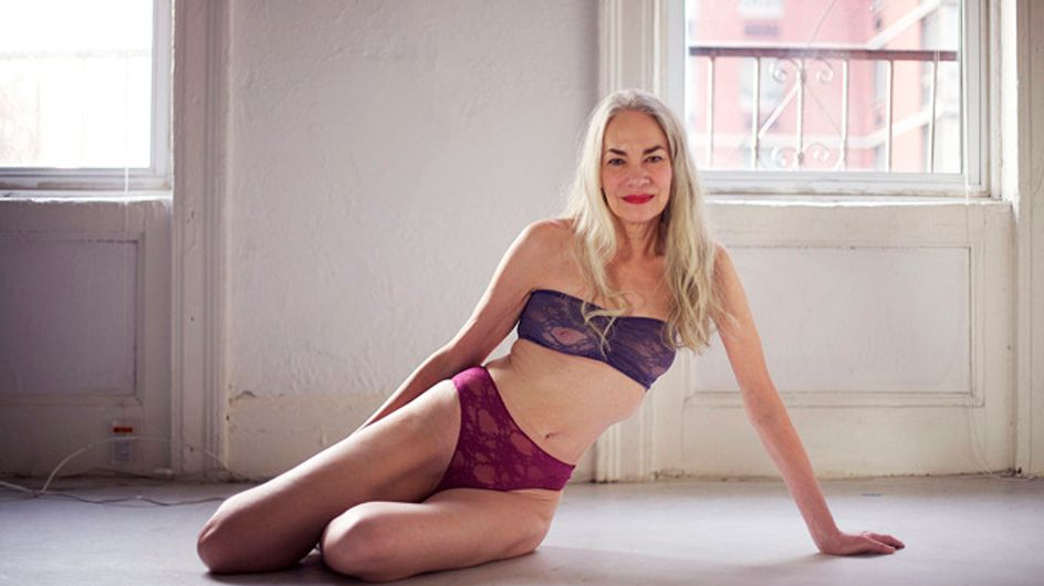 Sexy never gets old: American Apparel's latest lingerie model is 62