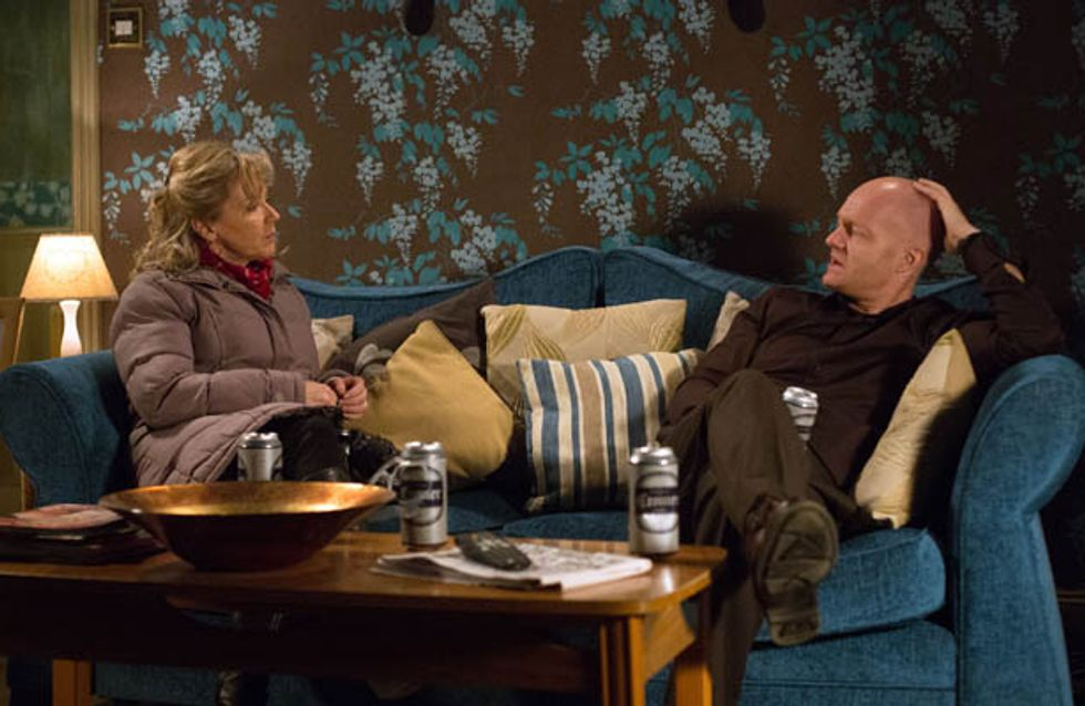 Eastenders 10/02 – Kat tells Max about Stacey