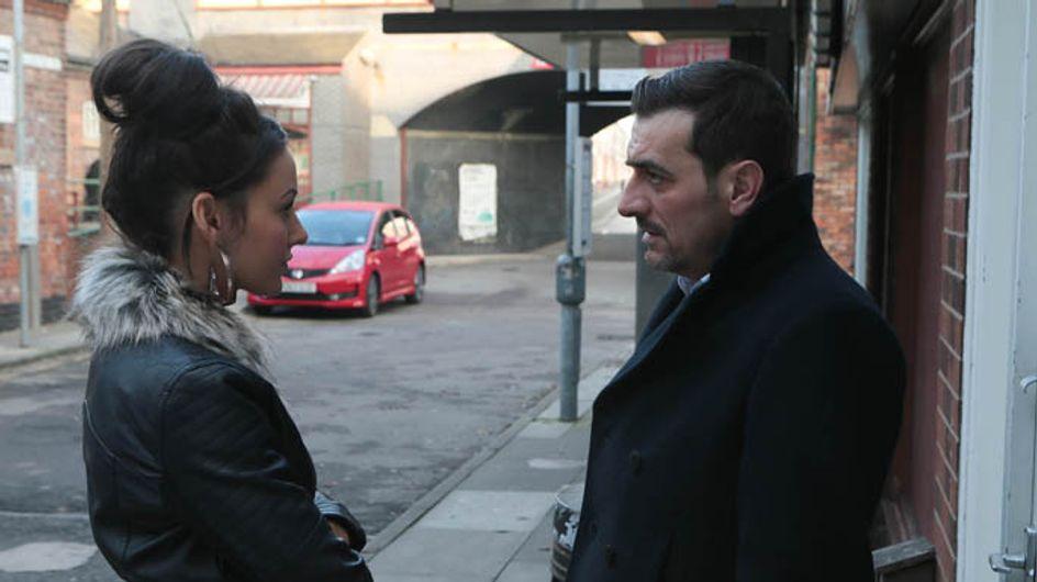 Coronation Street 12/02 –Tina's plan to leave goes awry