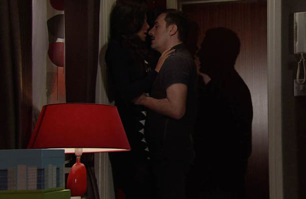 Coronation Street 14/02 – Tina puts Peter on the spot
