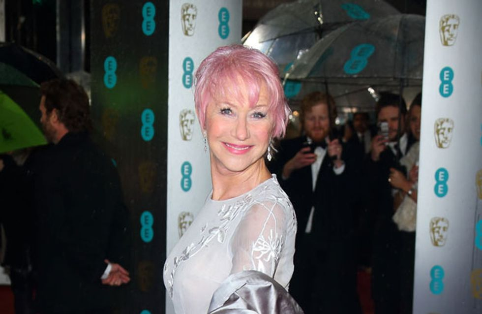 WATCH: Helen Mirren gets her Miley Cyrus on and twerks while accepting award