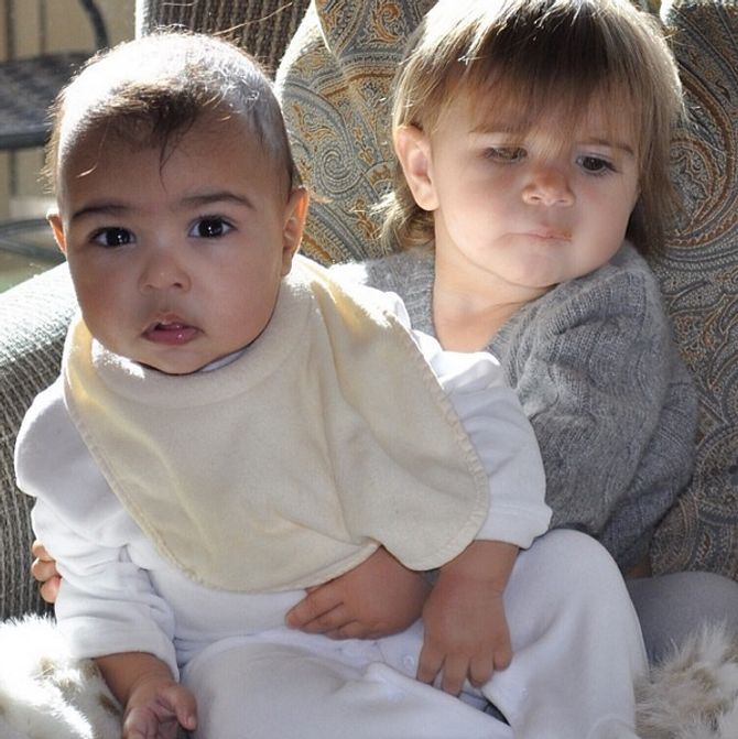 North West & Cousine Penelope