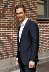 Matthew McConaughey en 2013