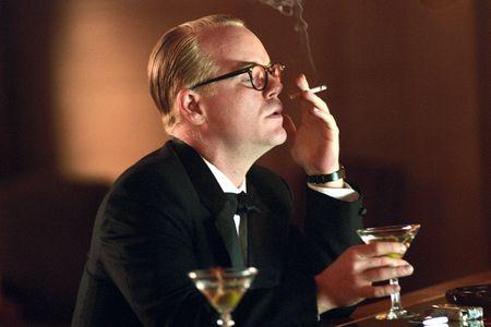 El actor, en una de las escenas de 'Capote'
