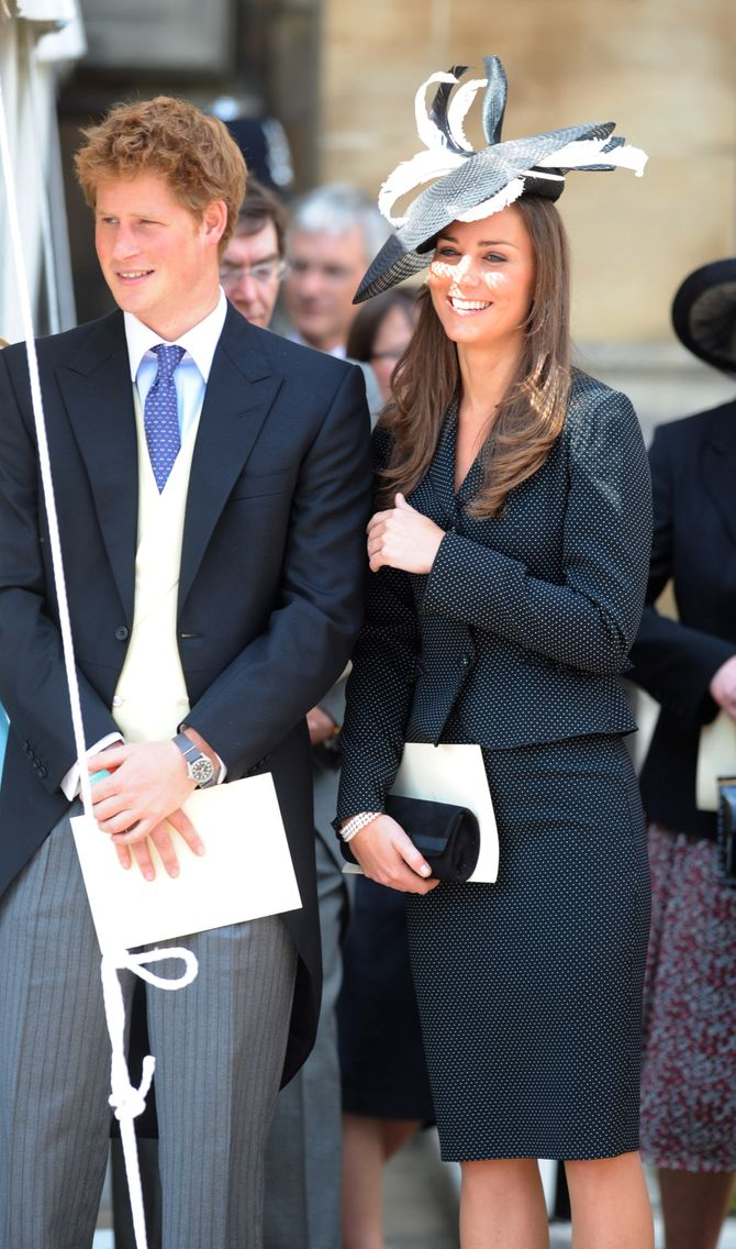 Kate Middleton, Docteur Love du prince Harry