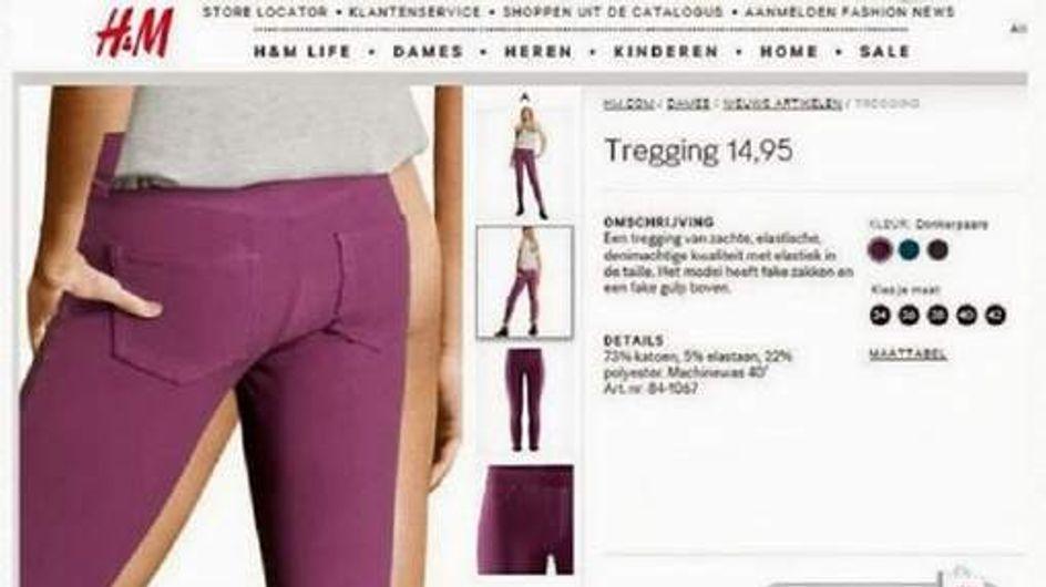 H&M : Les fesses à l'air à cause de Photoshop (Photo)