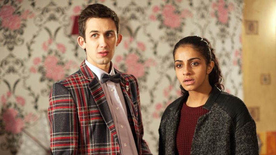 Hollyoaks 10/02 – Cindy makes a shocking discovery