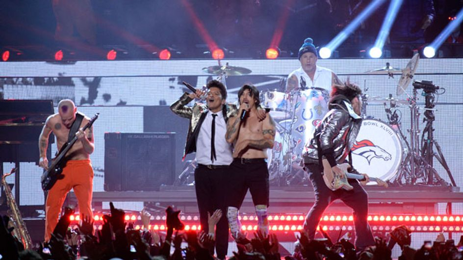 Bruno Mars nails it at Super Bowl Halftime show with Red Hot Chili Peppers
