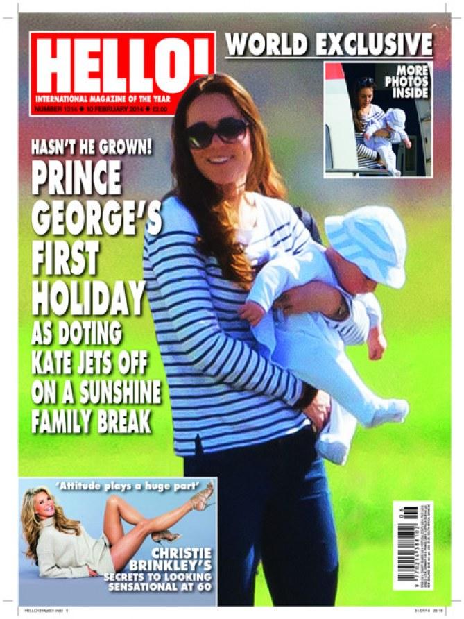 Kate Middleton et George aux Caraïbes