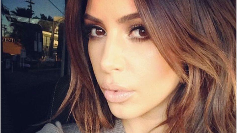 """I'm So Annoyed I Dyed My Hair Dark"": Kim Kardashian In Blonde VS Brunette Meltdown"