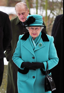 Elisabetta II con il Principe Filippo