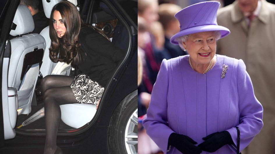 Niente gonne corte per Kate! Ordine della Regina