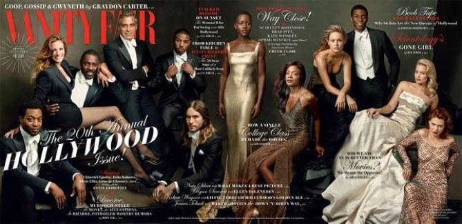 La couverture Hollywood Issue de Vanity Fair Us