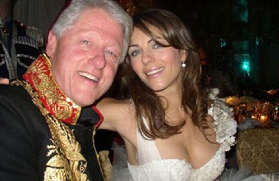 Elizabeth Hurley desmiente su romance con Bill Clinton