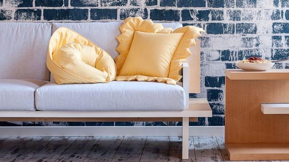 Il design più pazzo del mondo: dal cuscino a forma di tortellino al letto che sembra un nido