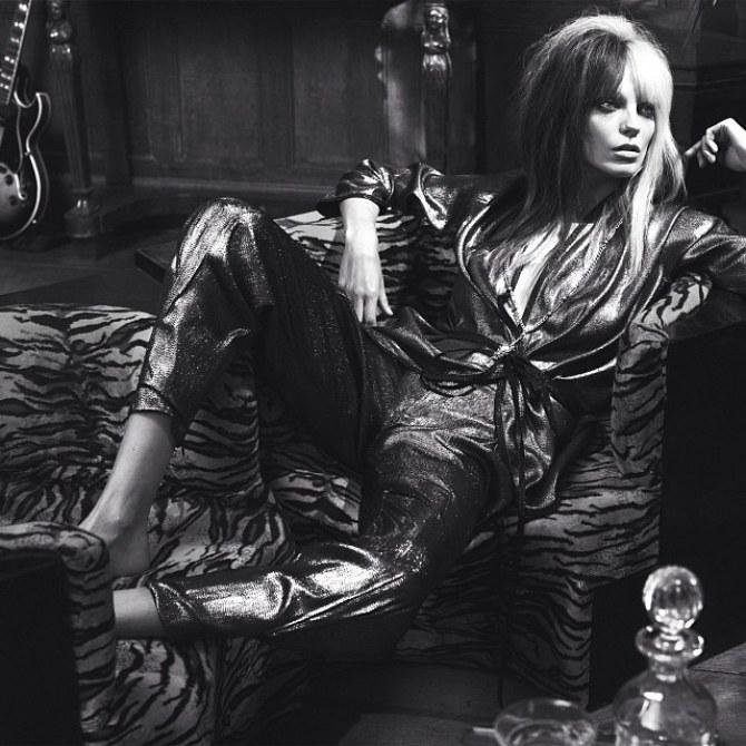 Daria Werbowy pour le Vogue UK