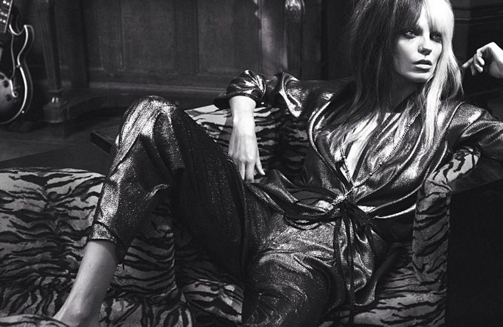 Kate Moss : Ses premiers clichés en tant qu'éditrice mode pour Vogue Uk (Photos)