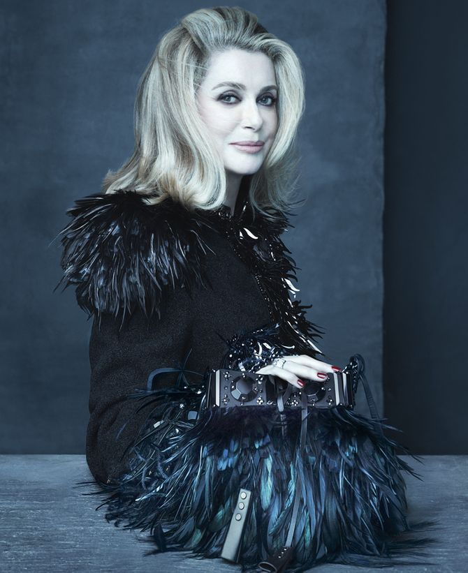 Catherine Deneuve, égérie Louis Vuitton