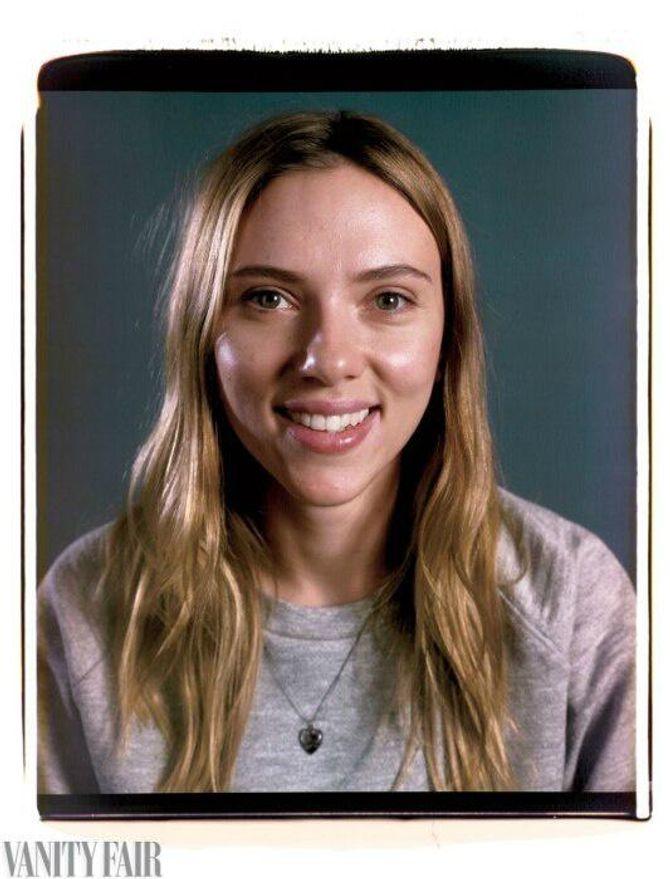 Scarlett Johansson sans maquillage